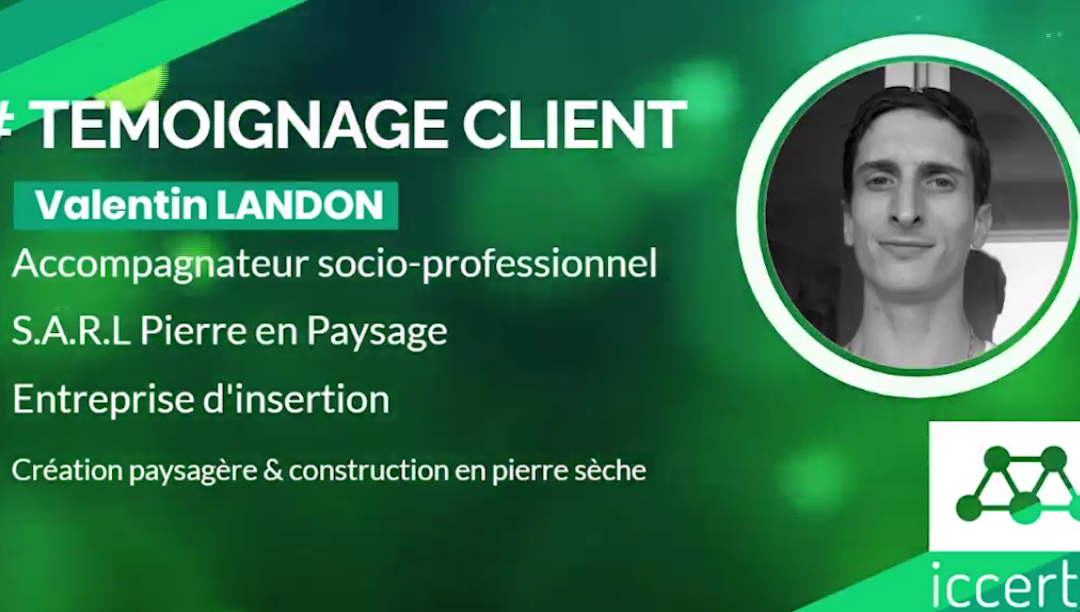 Témoignage Client – Valentin LANDON